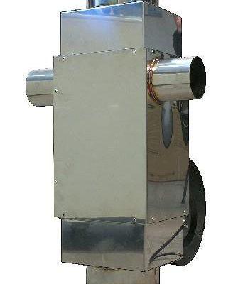 Teplovzdušný výměník 450 m³/h