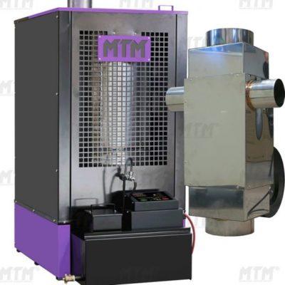 Olejová kamna MTM 52 kW s deflektorem