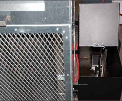 Kamna na olej MTM 8-30 kW - mřížka