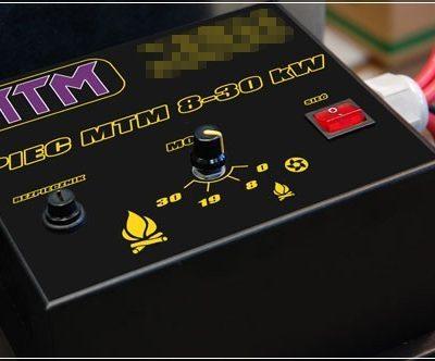Kamna na olej MTM 8-30 kW - ovládání